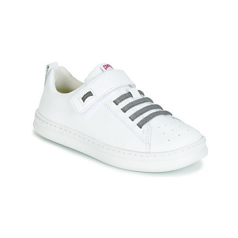 Camper RUNNER 4 J girls's Children's Shoes (Trainers) in White