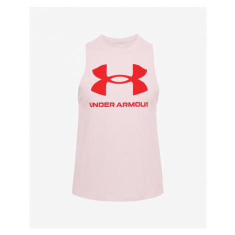 Under Armour Sportstyle Graphic Top Pink