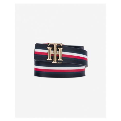 Tommy Hilfiger Logo Reversible Belt Blue Red
