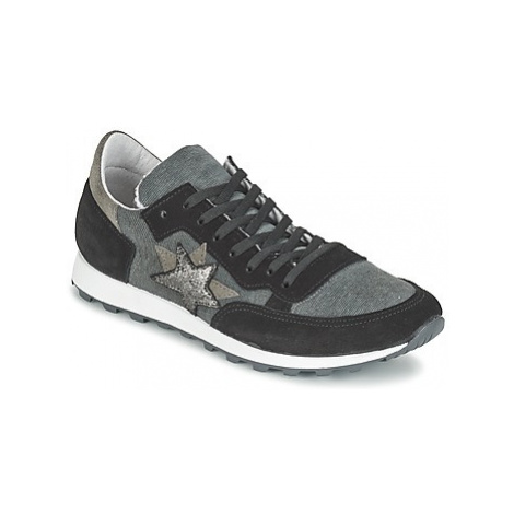 Yurban FILLIO women's Shoes (Trainers) in Grey