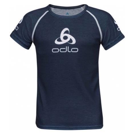 Odlo SUW KID'S TOP CREW NECK S/S ORIGINALS LIGHT black - Children's T-shirt