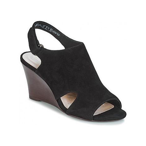 Clarks Raven Mist women's Sandals in Black