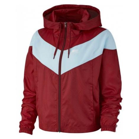 Nike NSW HRTG JKT WNDBRKR red - Women's jacket