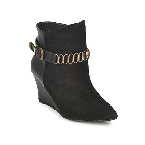 Pastelle ALINE women's Low Ankle Boots in Black Pastelle by Patricia Elbaz