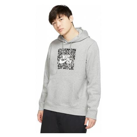 sweatshirt Nike SB Triangle GFX HBR - 063/Dark Gray Heather/Summit White - men´s