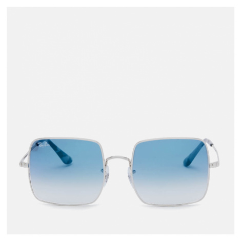 Ray-Ban Women's Square Frame Sunglasses - Silver