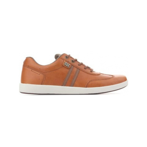 Caterpillar Syntax P721315 men's Shoes (Trainers) in Brown