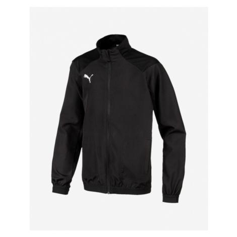 Puma Liga Sideline Kids Jacket Black Colorful