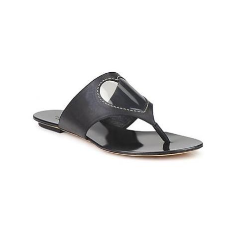 Moschino Cheap CHIC CALOTROPIS women's Flip flops / Sandals (Shoes) in Black