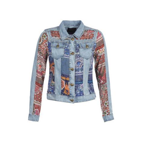 Desigual WILLEM women's Denim jacket in Blue