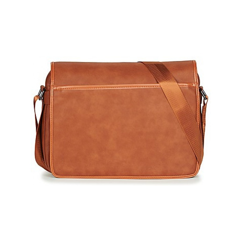 Casual Attitude FILOU men's Messenger bag in Brown
