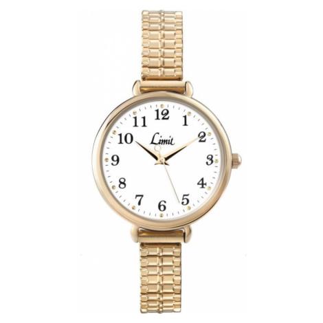 Ladies Limit Gold Plated Expanding Bracelet Watch