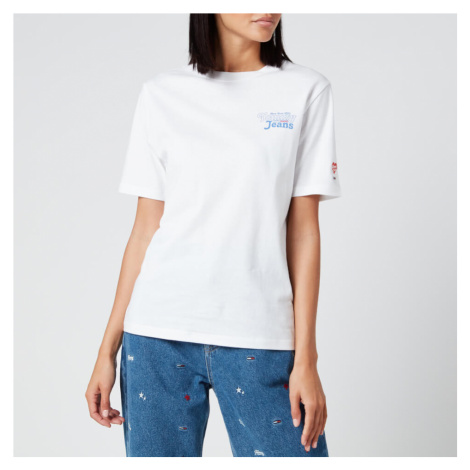 Tommy Jeans Women's Summer Repeat Back T-Shirt - White Tommy Hilfiger