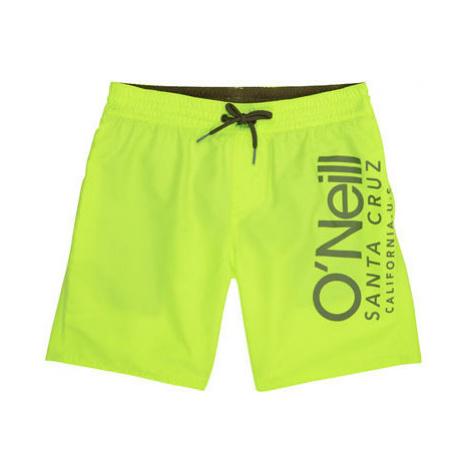 O'Neill PB CALI SHORTS yellow - Boy's swim shorts