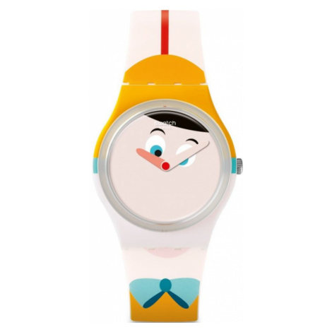 Unisex Swatch Naso Lungo Watch