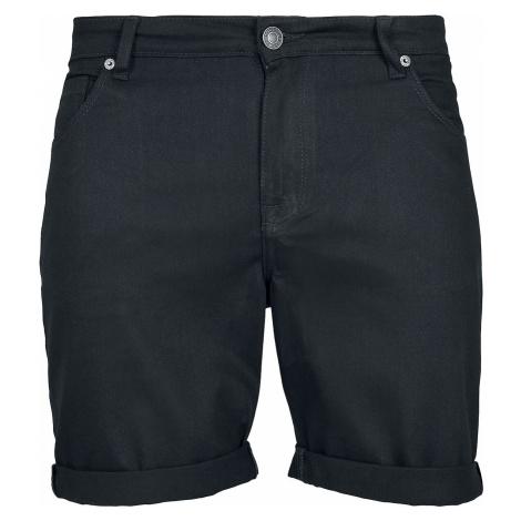 Urban Classics 5 Pocket Slim Fit Denim Shorts Shorts black