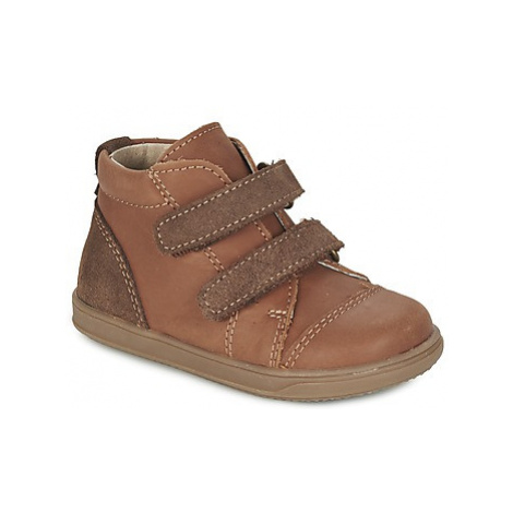 Citrouille et Compagnie FIKIRAM boys's Children's Mid Boots in Brown