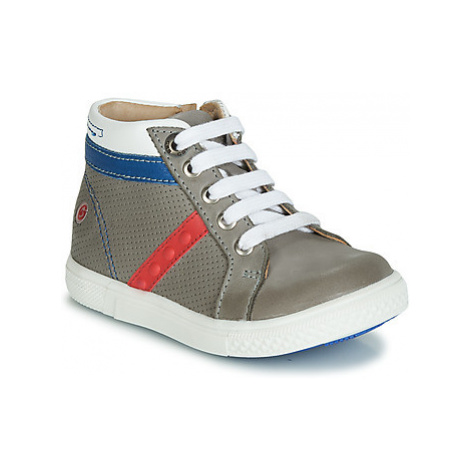 GBB VOLAGO boys's Children's Shoes (High-top Trainers) in Grey