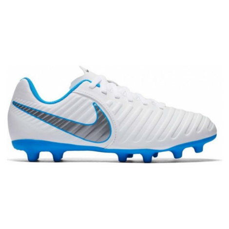 Nike JR TIEMPO LEGEND CLUB VII white - Kids' football boots
