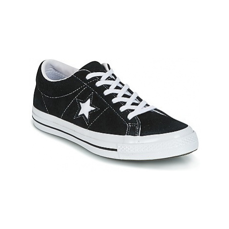 Converse One Star women's Shoes (Trainers) in Black