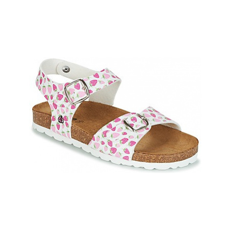 Citrouille et Compagnie RELUNE girls's Children's Sandals in White