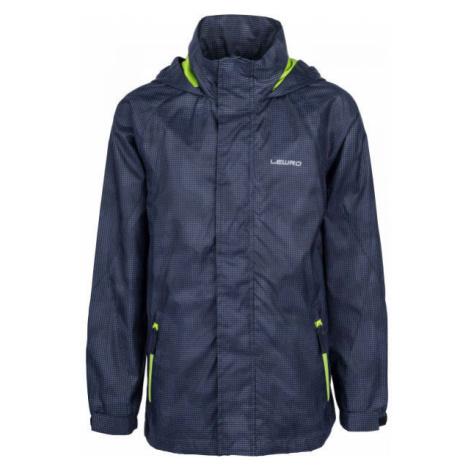 Lewro ODILON dark blue - Boys' nylon jacket