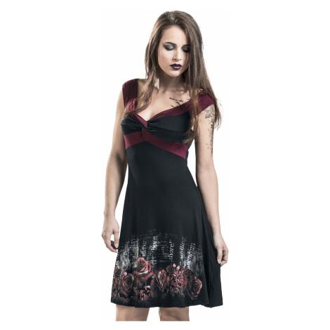 Alchemy England - Nevermore - Dress - black-bordeaux