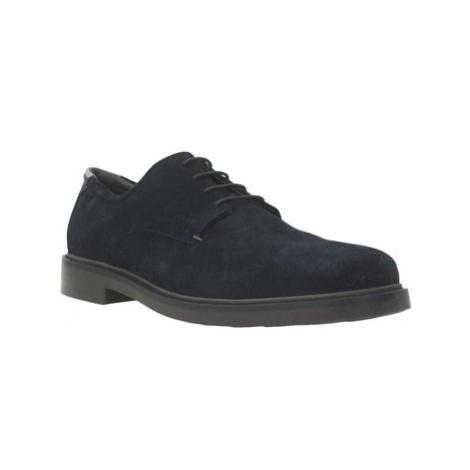 Geox U SILM0R men's Casual Shoes in Blue