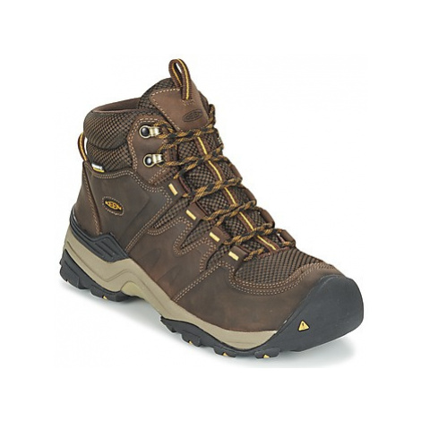 Keen GYPSUM II MID WATERPROOF men's Walking Boots in Brown