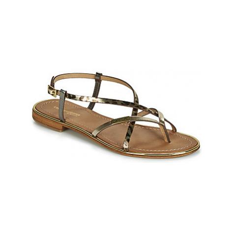 Les Tropéziennes par M Belarbi MONACO women's Sandals in Gold