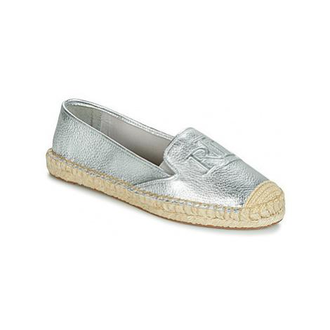 Lauren Ralph Lauren DESTINI women's Espadrilles / Casual Shoes in Silver