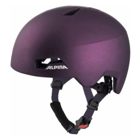Alpina Sports HACKNEY purple - Kids' cycling helmet
