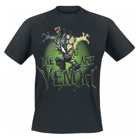 Marvel - Venomized Groot - T-Shirt - black