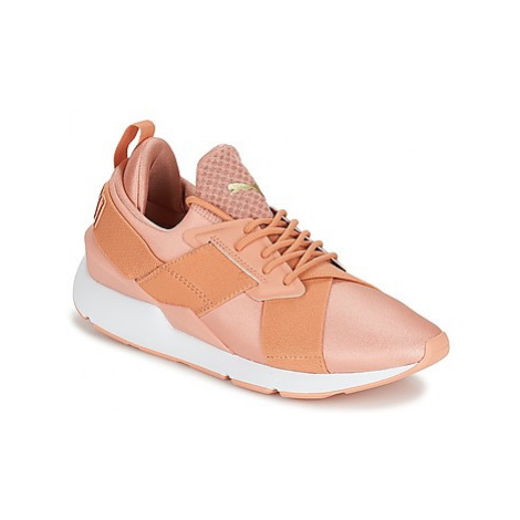 Puma PUMA Muse X-Strp St EP W's women's Shoes (Trainers) in Orange
