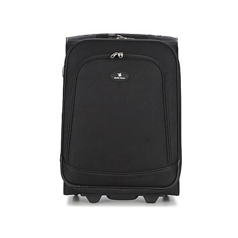 David Jones VERLUDE 41L men's Soft Suitcase in Black