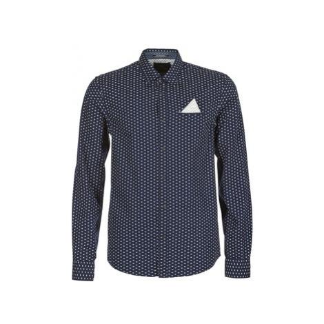 Scotch Soda PAKRIS men's Long sleeved Shirt in Blue Scotch & Soda