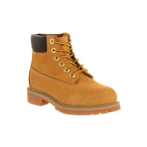 Timberland 6 Inch Classic boots Youth WHEAT NUBUCK