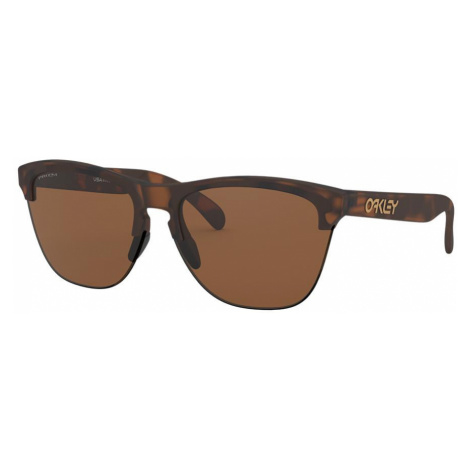 Oakley Man OO9374 Frogskins™ Lite - Frame color: Tortoise, Lens color: Brown, Size 63-10/138