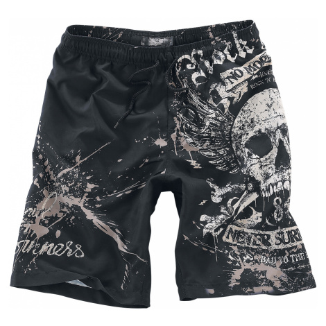 Rock Rebel by EMP - Swimming Time - Swim trunks - black