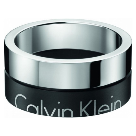 Mens Calvin Klein Stainless Steel Size V/W Boost Ring Size U