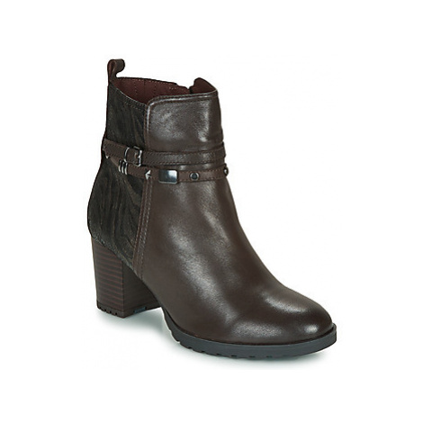 Caprice LUNITONE women's Low Ankle Boots in Brown
