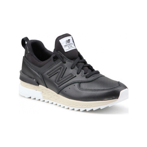 New Balance MS574LSB men's Shoes (Trainers) in Black