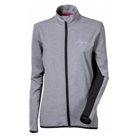 Progress GAMBELLA grey - Women's running jacket