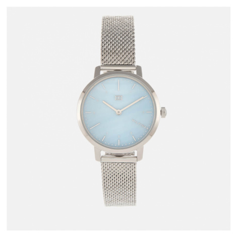Tommy Hilfiger Women's Lily Mesh Strap Watch - Rou Blue
