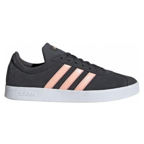 adidas VL COURT 2.0 dark gray - Women's leisure shoes
