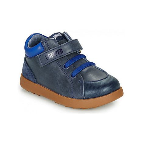 Camper Bryn FW boys's Children's Shoes (Trainers) in Blue