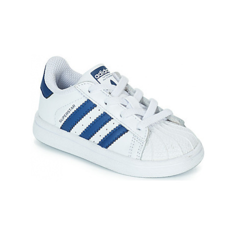 Adidas SUPERSTAR EL girls's Children's Shoes (Trainers) in White