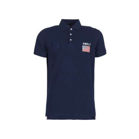Deeluxe DRISKY men's Polo shirt in Blue