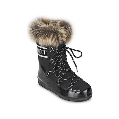 Moon Boot MOON BOOT MONACO LOW women's Snow boots in Black