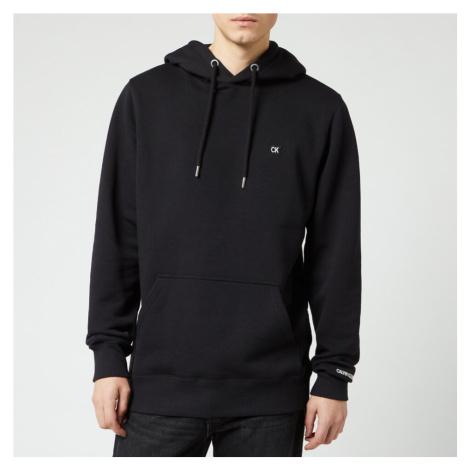 Calvin Klein Jeans Men's Badge Hoodie - CK Black - Black